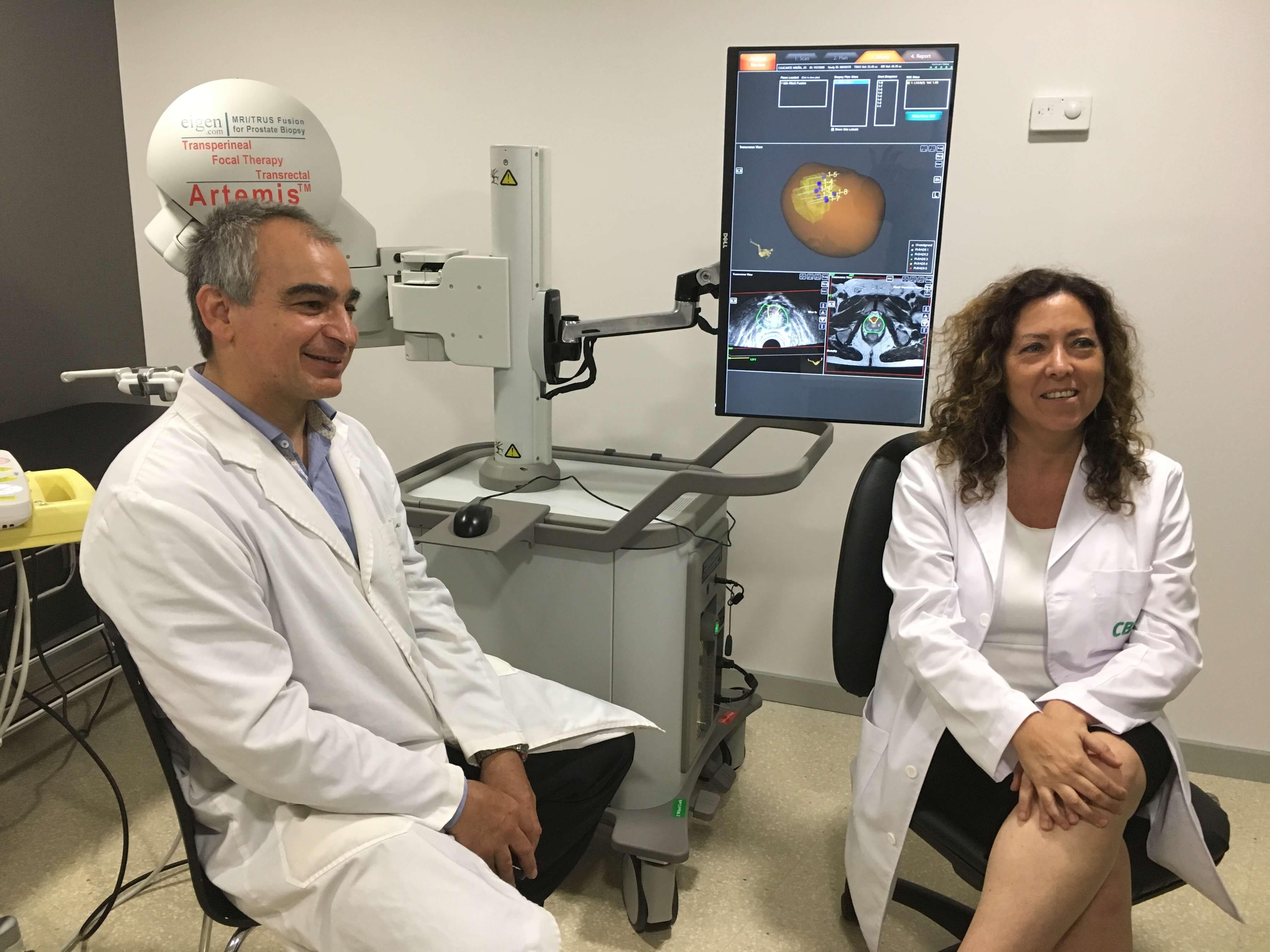 Ventajas del robot ARTEMIS para el diagnóstico del cáncer de próstata