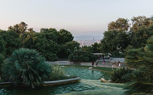 Redescubrir Barcelona: 10 parques y jardines con encanto